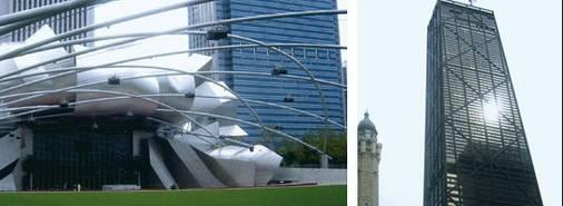 REISEKARTE CHICAGO