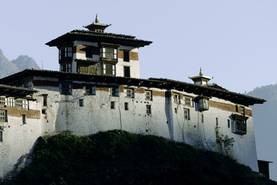 REISEKARTE BHUTAN