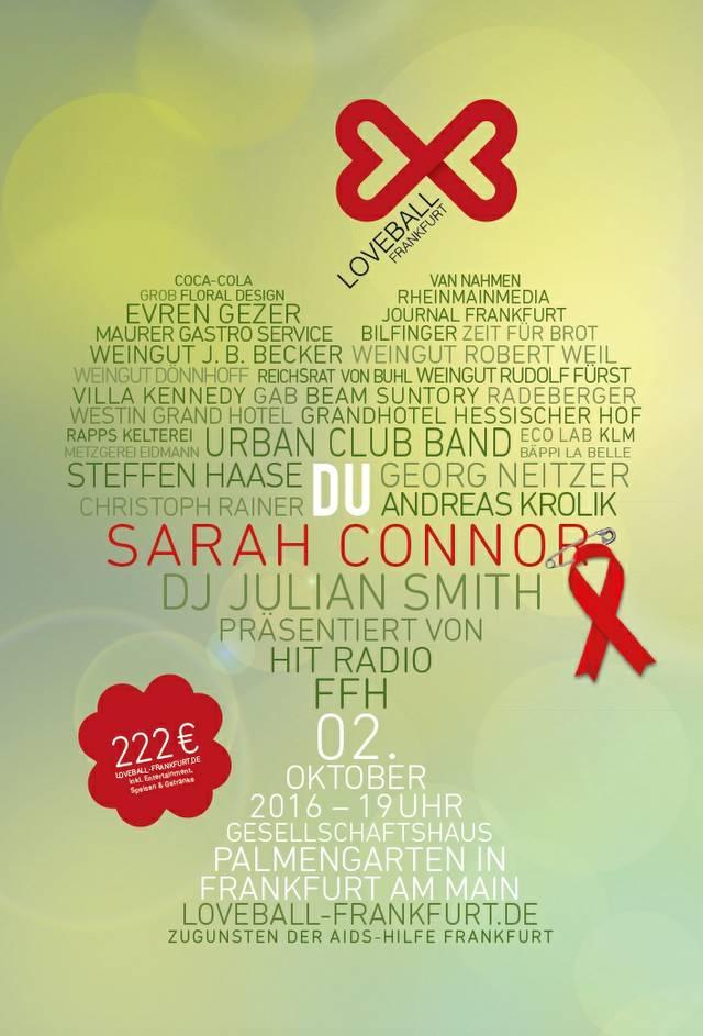 Loveball-Plakat