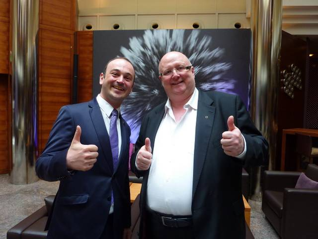 Bäppi und Michael Fritz