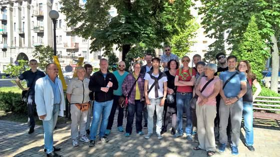 Münchner Delegation Kiew