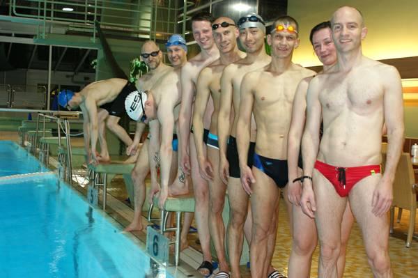 Startschuss Schwimmen