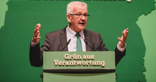 Winfried Kretschmann Grüne