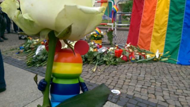 Gedenken den Opfern von Orlando