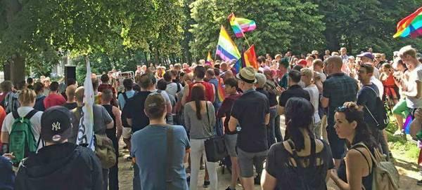 Demo vor Türkischer Botschaft