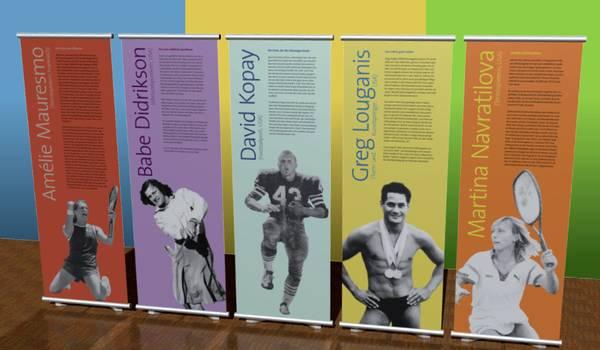 """Ausstellung """"Gegen die Regeln - Lesben und Schwule im Sport"""""""