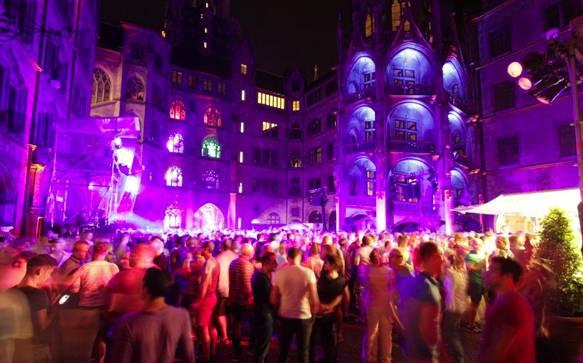 CSD München Rathausclubbing
