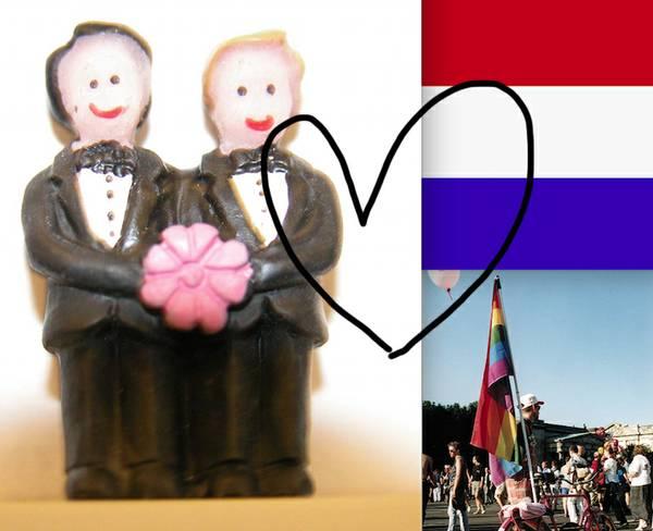 Niederlande CSD Homo-Ehe