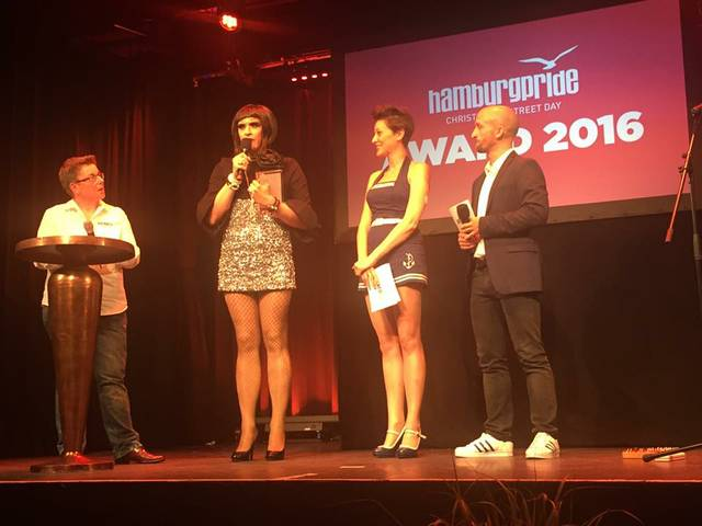 Valery Pearl erhält Pride Award
