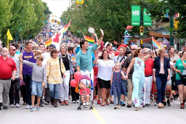 Justin Trudeau Vancouver Pride