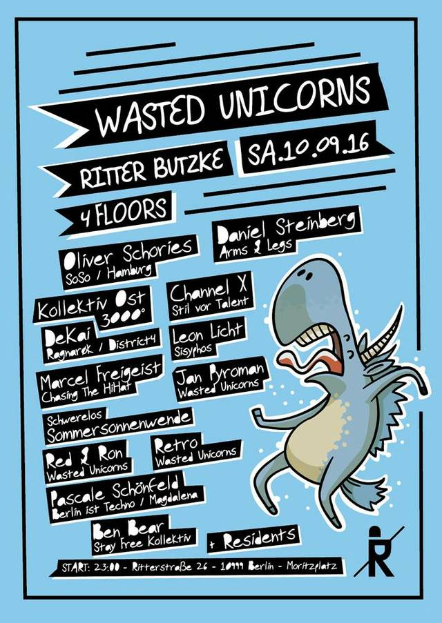 wasted unicorns ritter butzke