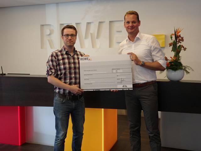 REWE und Deutsche Bank spenden
