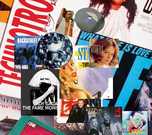 Popmusik Vinylplatten