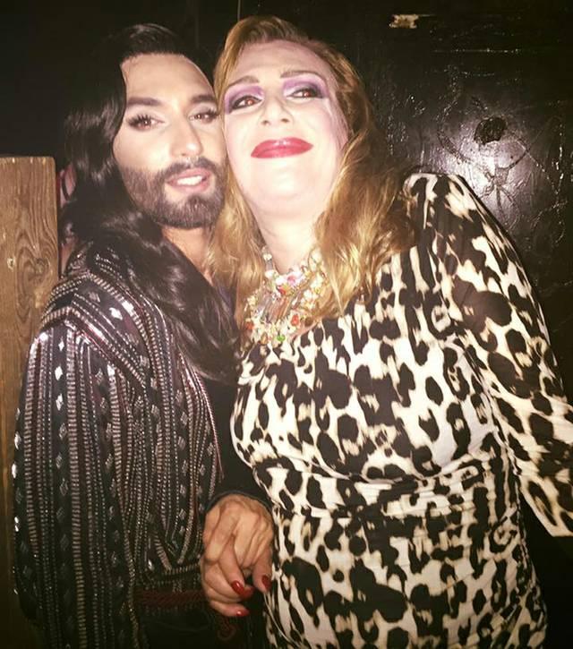 Chantal & Conchita Wurst