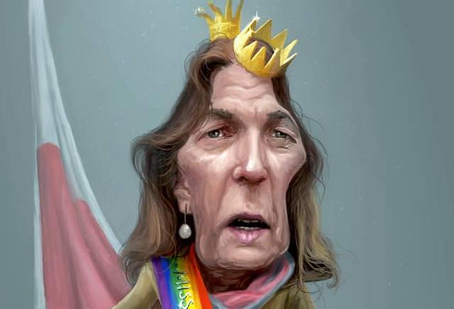 Miss Homophobia Hedwig von Beverfoerde