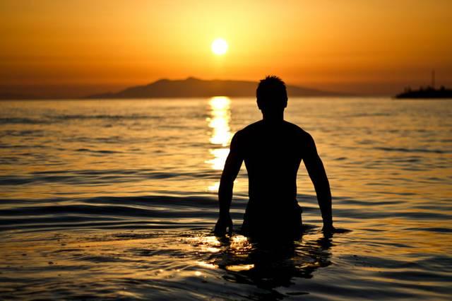 Reise Sonnenuntergang