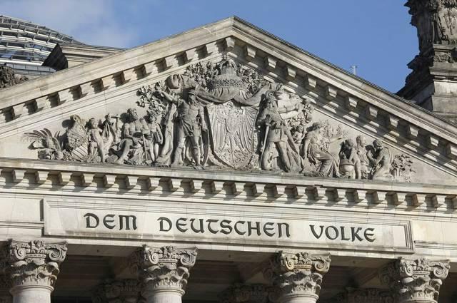 Reichstagsgebäude Bundestag