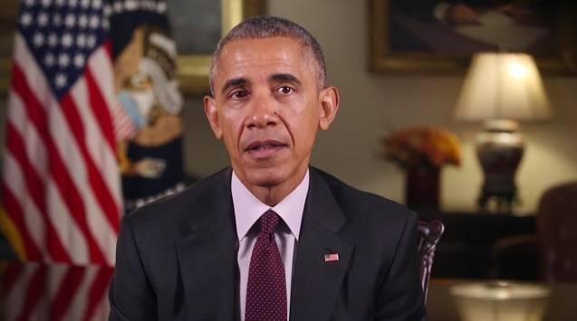 Präsentiert Obama