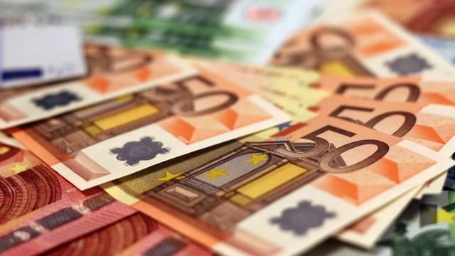 Euro Banknoten Geld