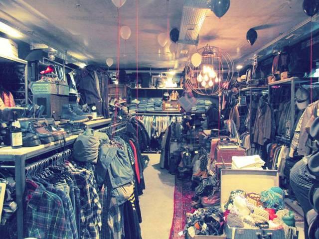 Secondhand-Shopping für Männer