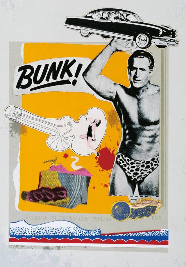 Eduardo Paolozzi: BUNK! 1972, Kassette mit 46 Collagen, Siebdrucken und Lithografien, Sammlung Würth, Trustees of the Paolozzi Foundation / VG Bild-Kunst, Bonn 2016