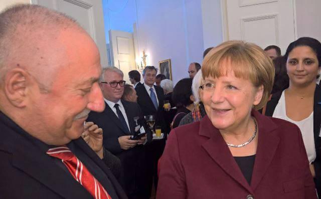 Wolfgang Preussner & Angela Merkel