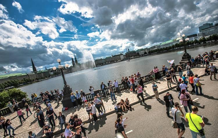 #HamburgPride: Das Straßenfest - männer*