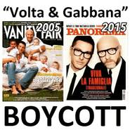 """Courtney Love: """"I just round up all my Dolce & Gabbana items and want to burn them. I'm just beyond words and emotions. Boycott senseless bigotry! #boycottD&G"""""""
