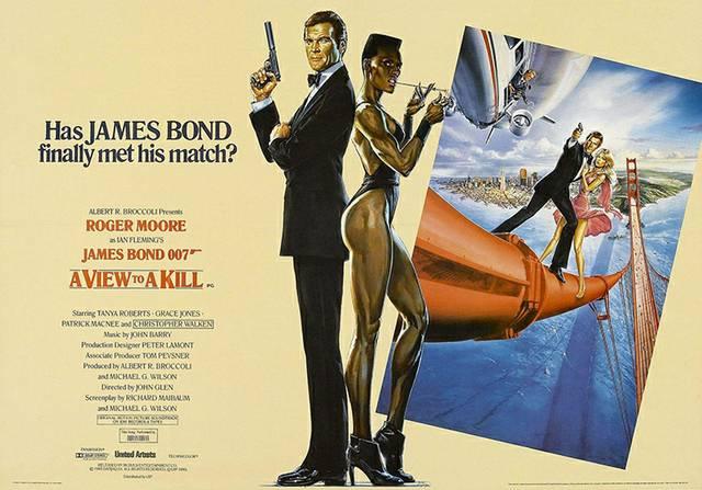 Grace Jones James Bond