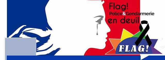 Flag - Policiers et Gendarmes LGBT