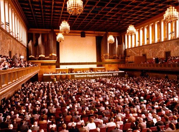 Kongress Saal München 1979