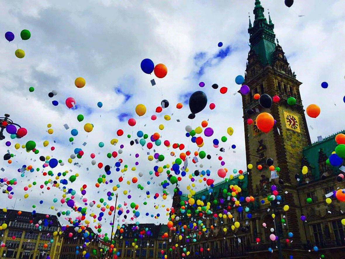 Rainbowflash Hamburg