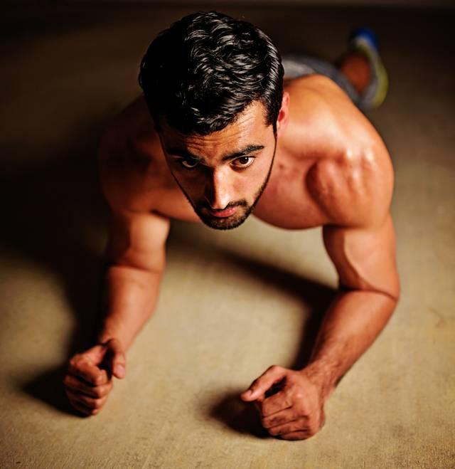 Männer, Fitness, Sport