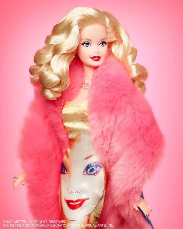 Barbie Andy Warhol Foundation