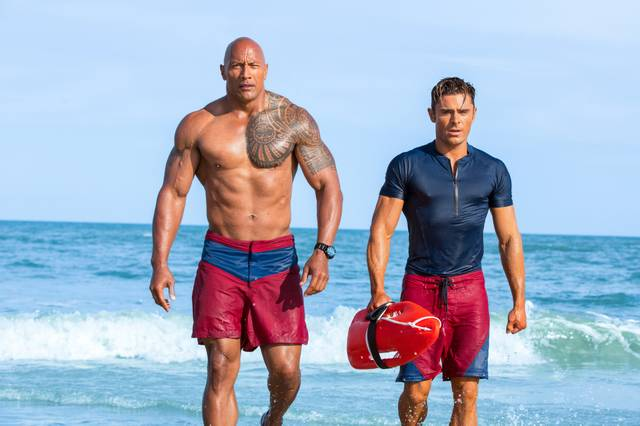 Zac Efron und The Rock
