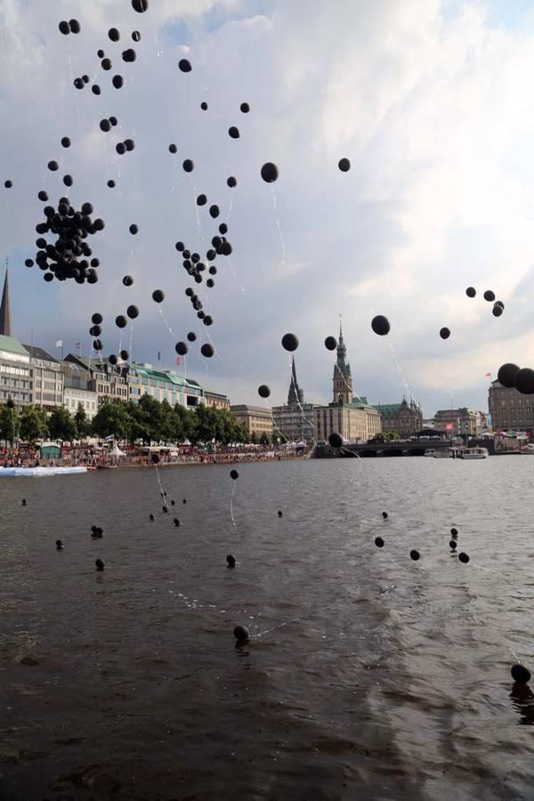 Ballon CSD Hamburg