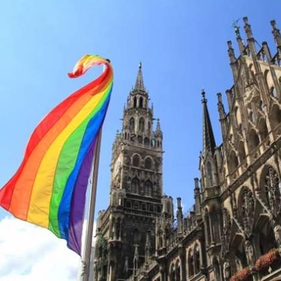 MÜNCHEN, Regenbogenflagge