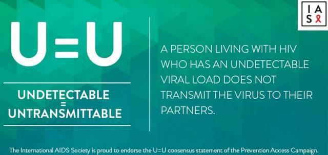 HIV U = U