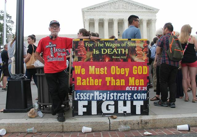 Anti Gay Demo