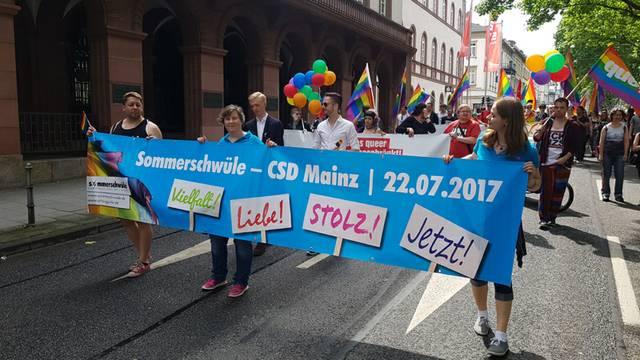 Sommerschwüle Mainz