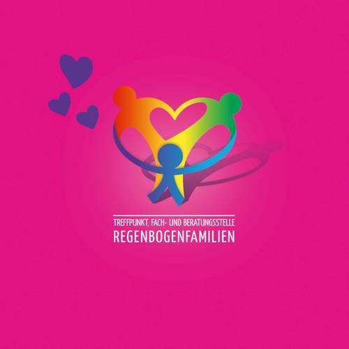 Regenbogenfamilien-Logo