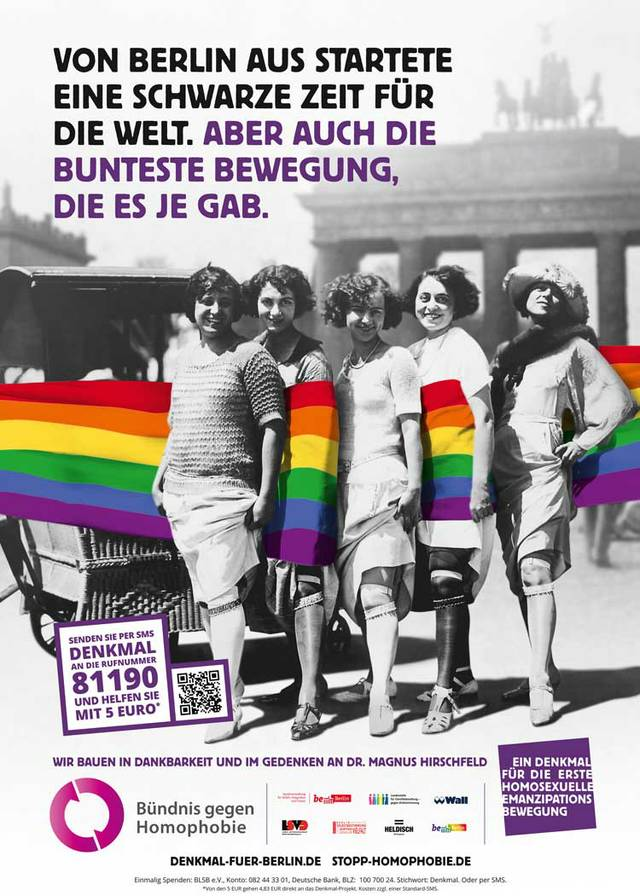 Homo-Denkmal Berlin
