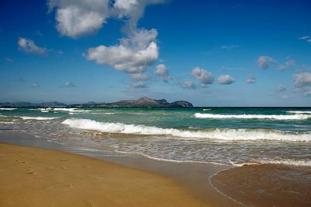 Strand von Can Picafort Mallorca