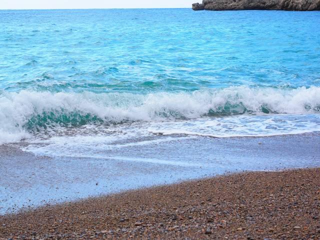 Mallorca Strand Kiesel