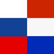 © Grafik: Russische Fahne / Niederländische Fahne