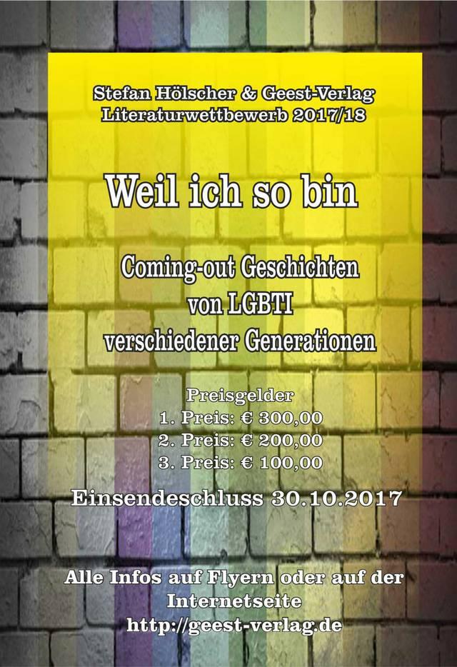 Hölscher & Geest-Verlag Literaturwettbewerb