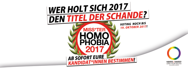 Miss*ter Homophobia