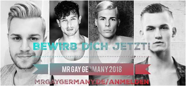 Mr Gay Germany 2018