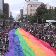 © Gaypride in Sao Paulo 2013