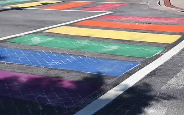 Lexington Regenbogenzebrastreifen